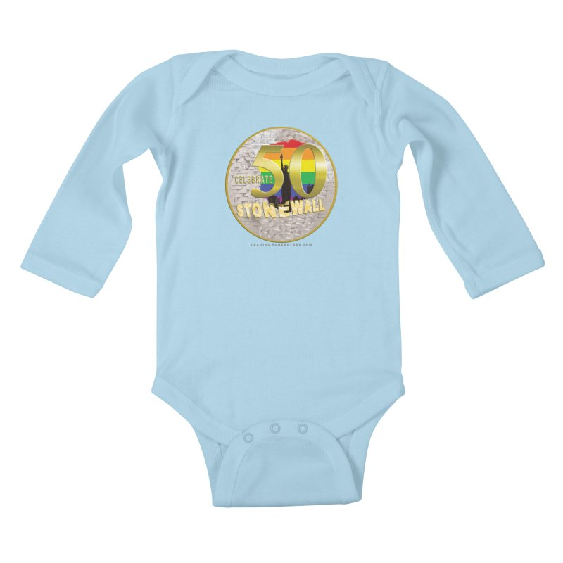 Stonewall 1969 Kids Baby Longsleeve Bodysuit by Leading Artist Shop