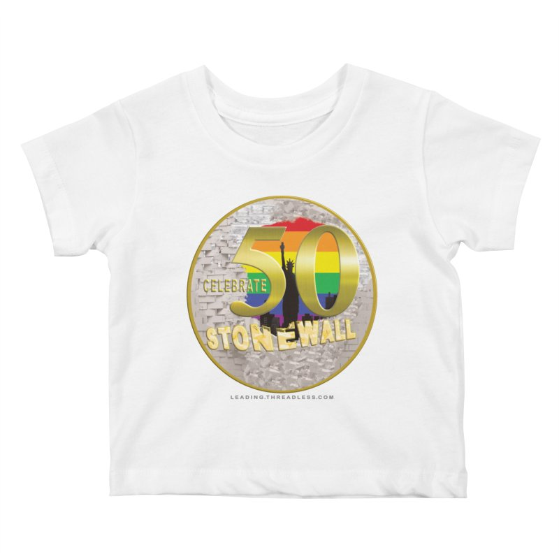 Stonewall 1969 Kids Baby T-Shirt by Leading Artist Shop