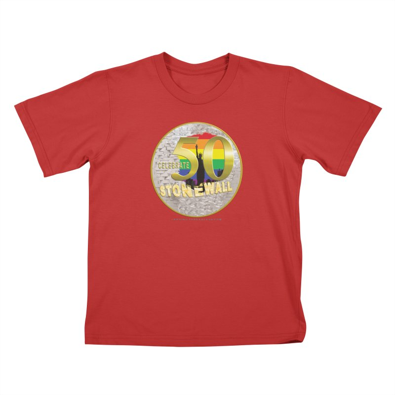 Stonewall 1969 Kids T-Shirt by Leading Artist Shop