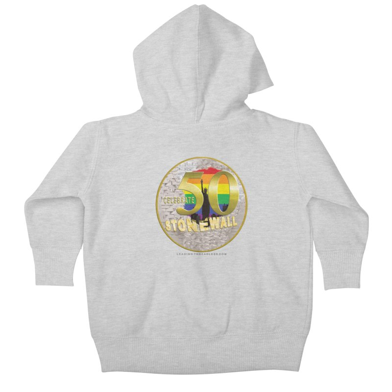 Stonewall 1969 Kids Baby Zip-Up Hoody by Leading Artist Shop