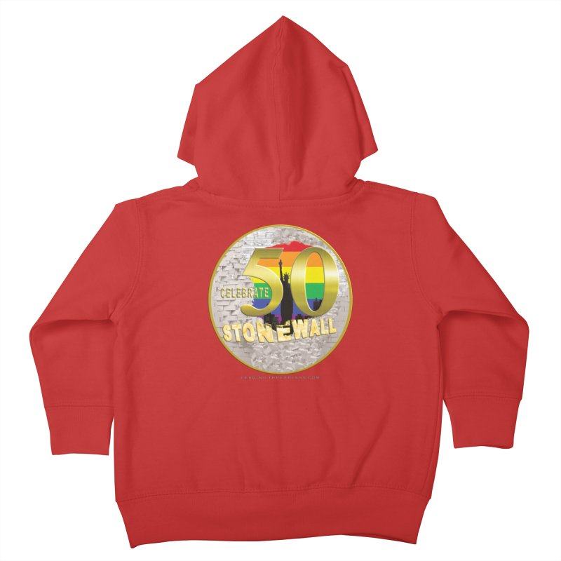 Stonewall 1969 Kids Toddler Zip-Up Hoody by Leading Artist Shop