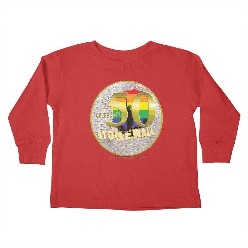 Stonewall 1969 Kids Toddler Longsleeve T-Shirt by Leading Artist Shop