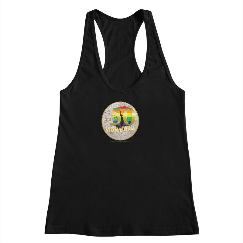 Stonewall 1969 Women's Racerback Tank by Leading Artist Shop