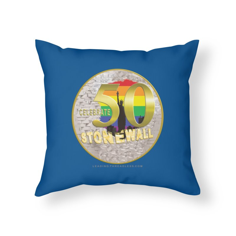 Stonewall 1969 Home Throw Pillow by Leading Artist Shop