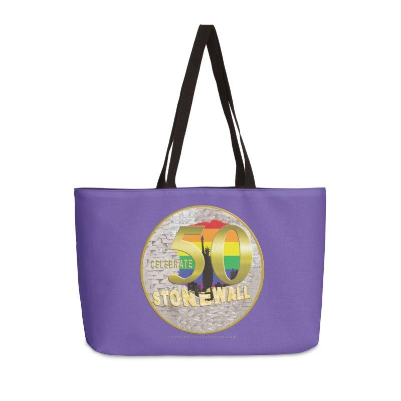Stonewall 1969 Accessories Weekender Bag Bag by Leading Artist Shop