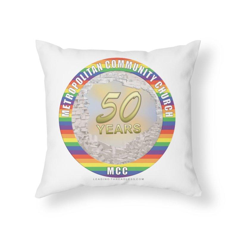 Metropolitan Community Church Quad Cities - MCCQCA Home Throw Pillow by Leading Artist Shop
