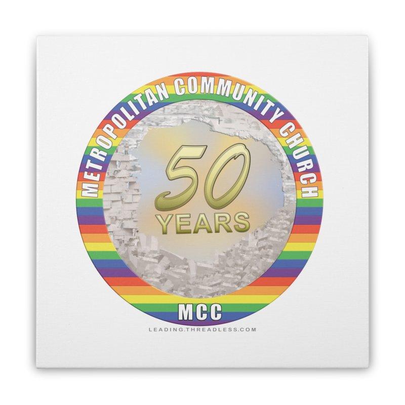 Metropolitan Community Church Quad Cities - MCCQCA Home Stretched Canvas by Leading Artist Shop