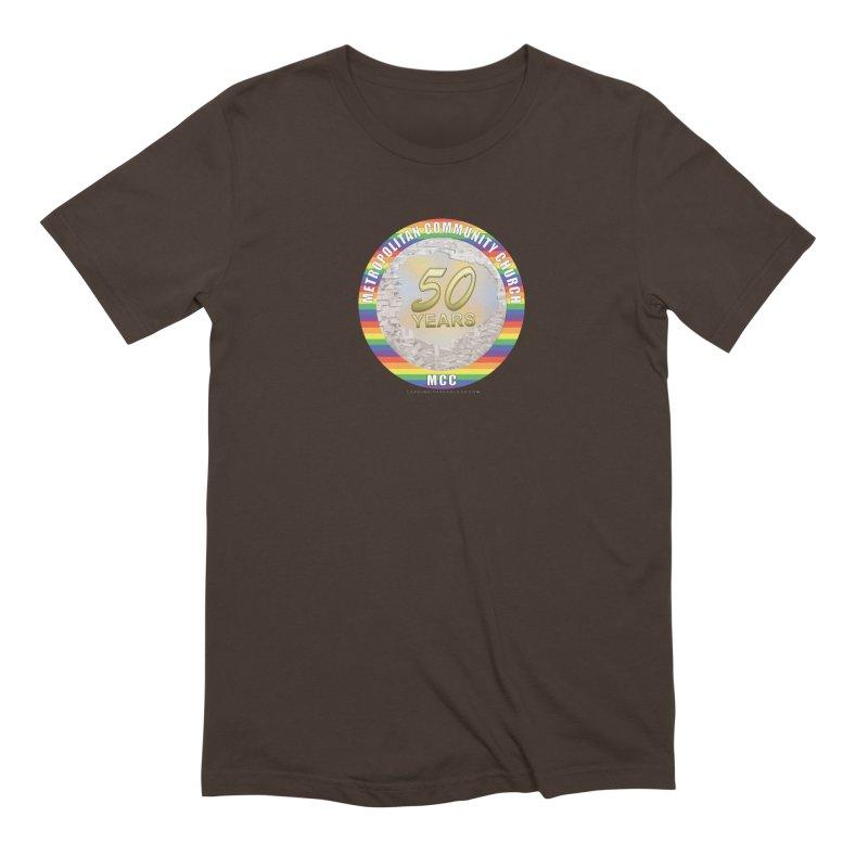 Metropolitan Community Church Quad Cities - MCCQCA Men's Extra Soft T-Shirt by Leading Artist Shop