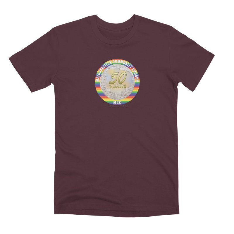 Metropolitan Community Church Quad Cities - MCCQCA Men's Premium T-Shirt by Leading Artist Shop