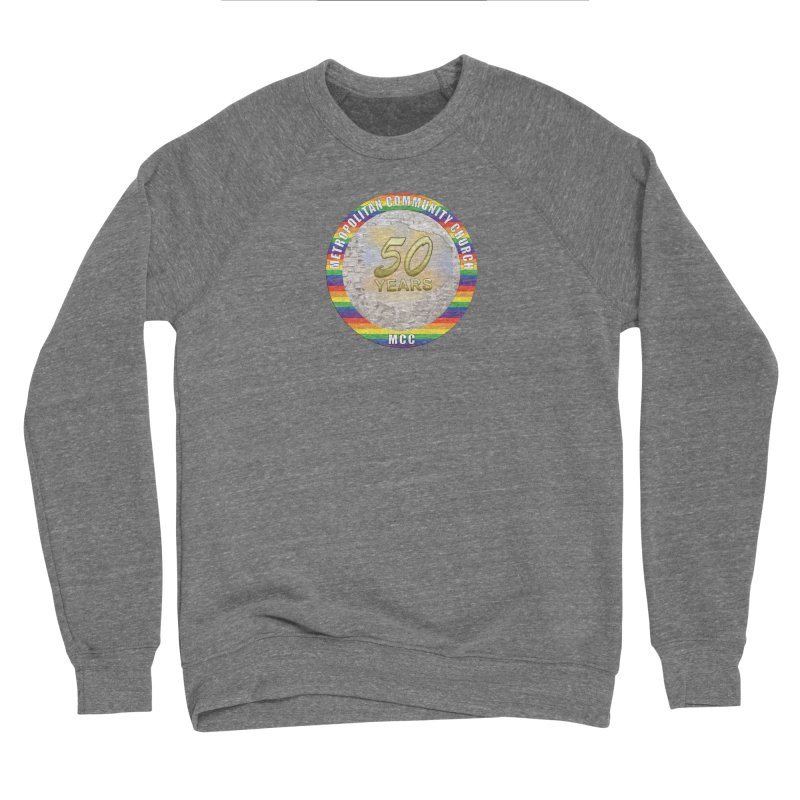 Metropolitan Community Church Quad Cities - MCCQCA Men's Sponge Fleece Sweatshirt by Leading Artist Shop