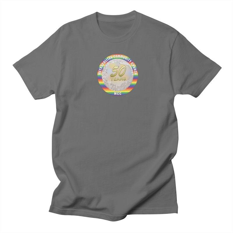 Metropolitan Community Church Quad Cities - MCCQCA Men's T-Shirt by Leading Artist Shop