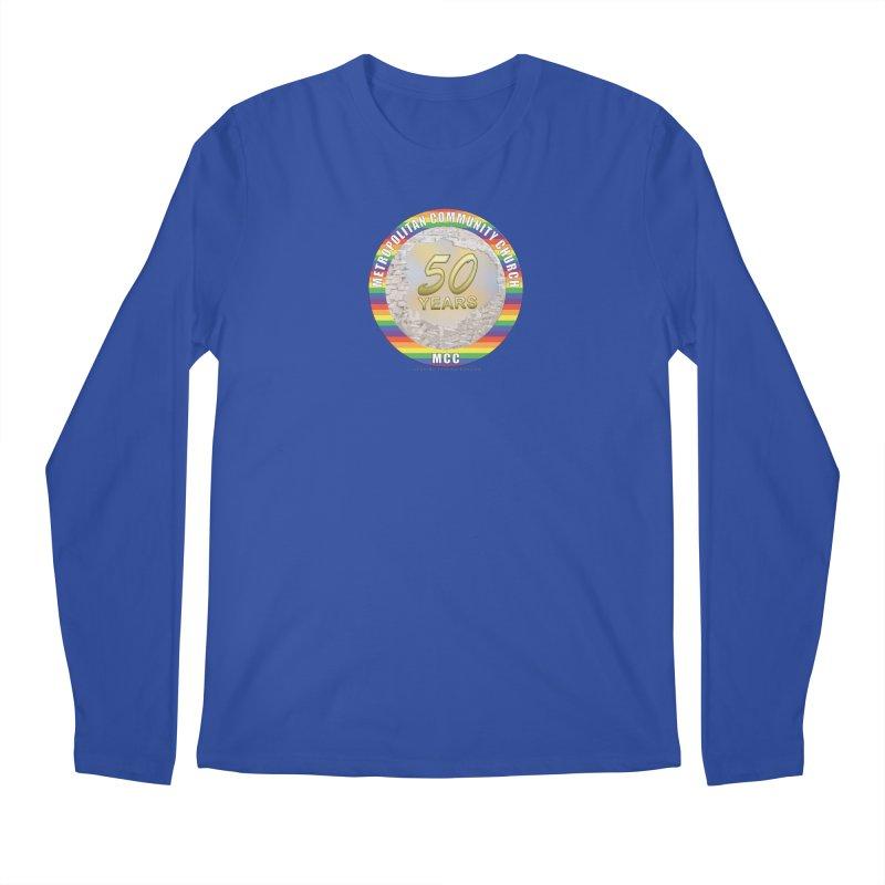 Metropolitan Community Church Quad Cities - MCCQCA Men's Regular Longsleeve T-Shirt by Leading Artist Shop