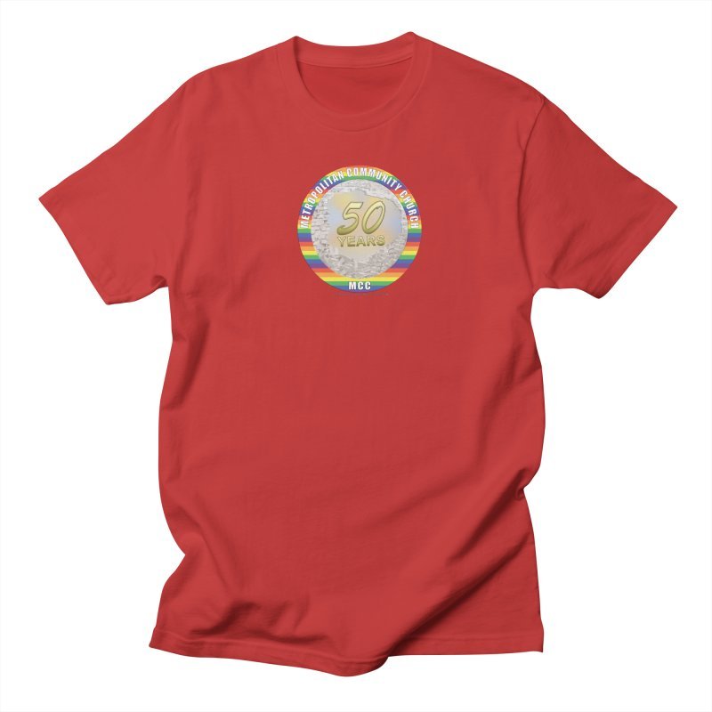 Metropolitan Community Church Quad Cities - MCCQCA Women's Regular Unisex T-Shirt by Leading Artist Shop