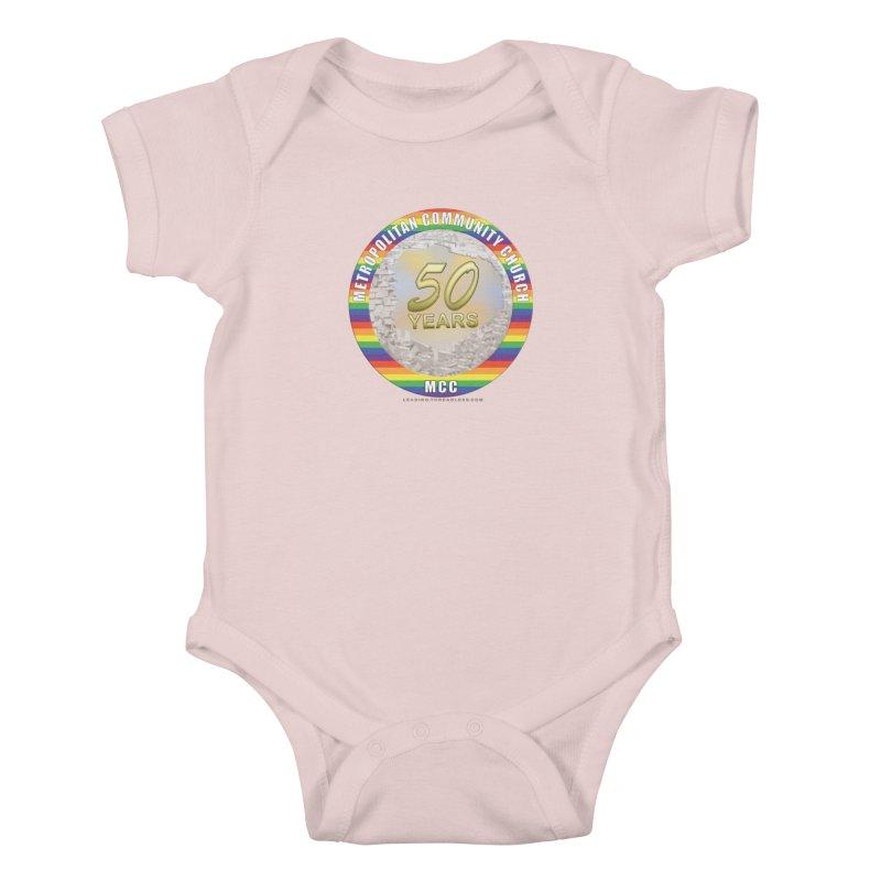Metropolitan Community Church Quad Cities - MCCQCA Kids Baby Bodysuit by Leading Artist Shop