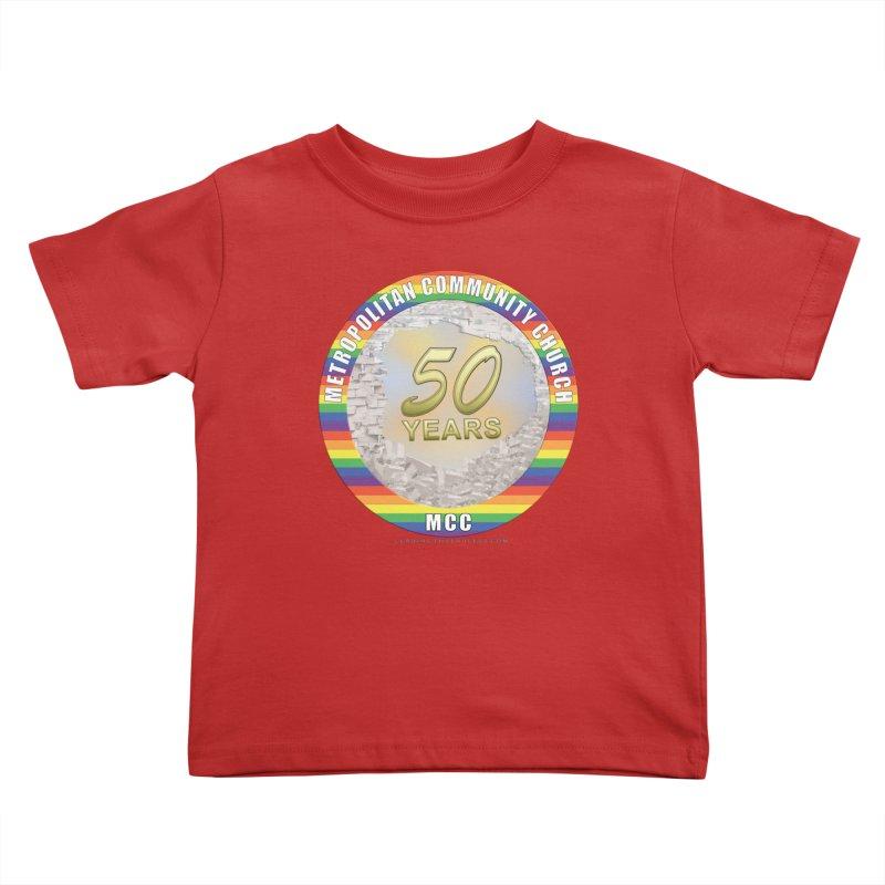 Metropolitan Community Church Quad Cities - MCCQCA Kids Toddler T-Shirt by Leading Artist Shop
