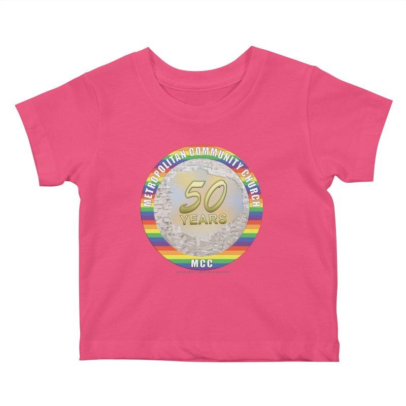 Metropolitan Community Church Quad Cities - MCCQCA Kids Baby T-Shirt by Leading Artist Shop