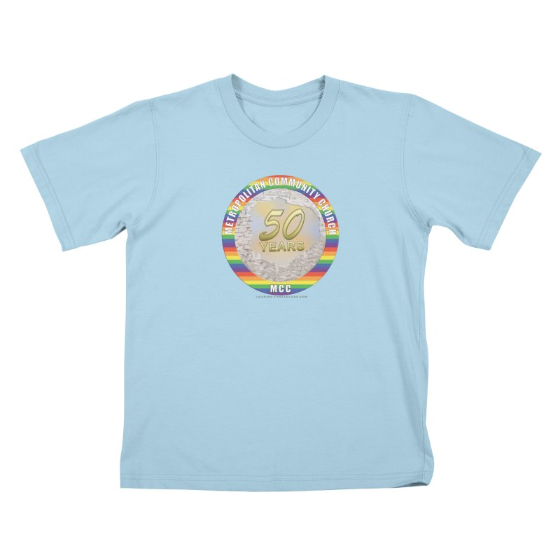 Metropolitan Community Church Quad Cities - MCCQCA Kids T-Shirt by Leading Artist Shop