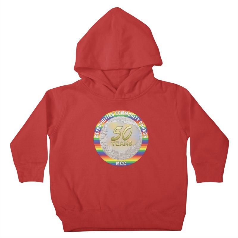 Metropolitan Community Church Quad Cities - MCCQCA Kids Toddler Pullover Hoody by Leading Artist Shop