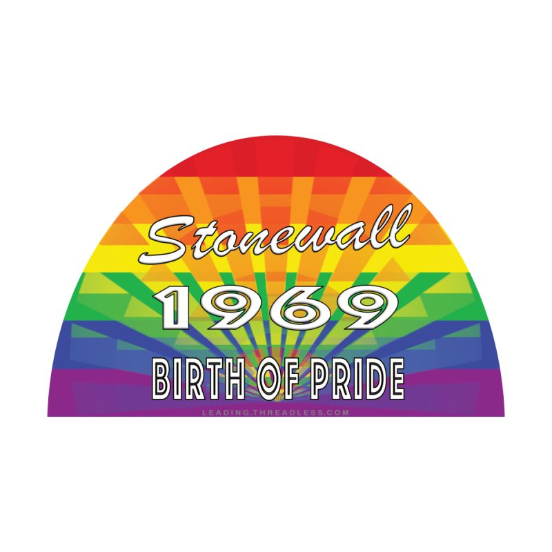 Stonewall 1969 Birth Of Pride Men's Sweatshirt by Leading Artist Shop