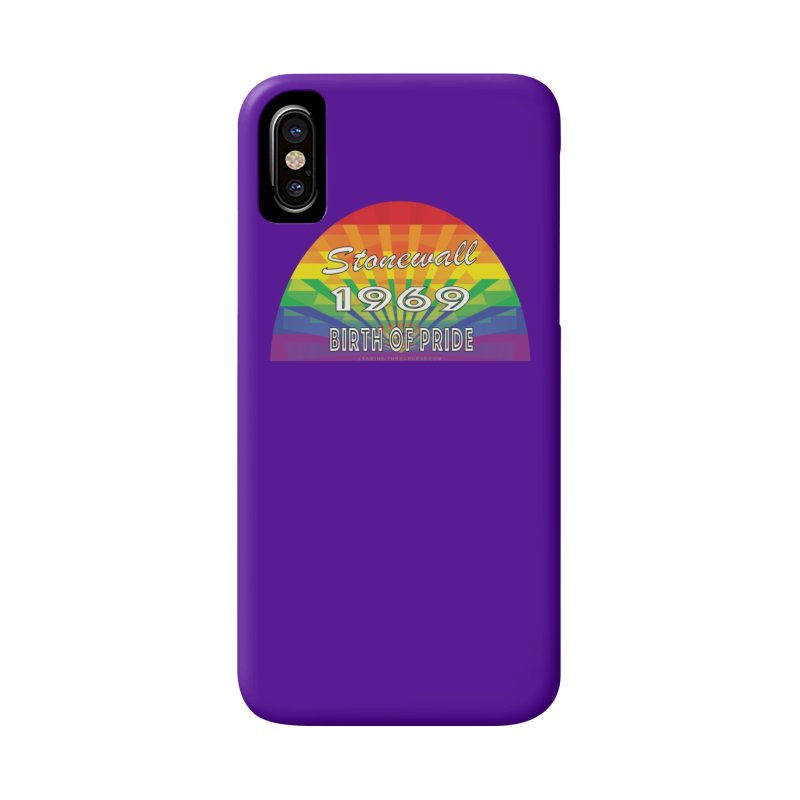 Stonewall 1969 Birth Of Pride Accessories Phone Case by Leading Artist Shop