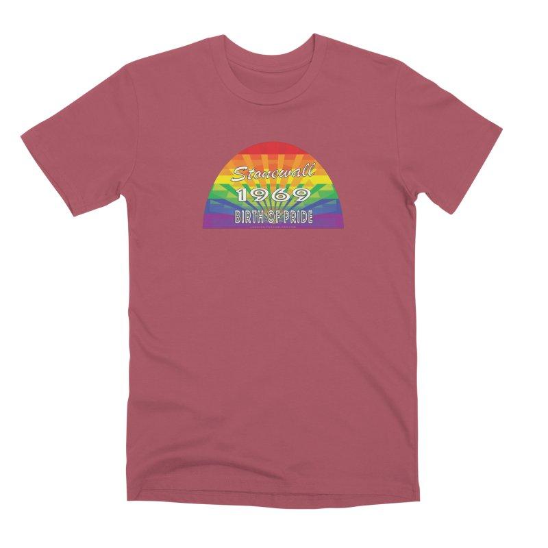Stonewall 1969 Birth Of Pride Men's Premium T-Shirt by Leading Artist Shop