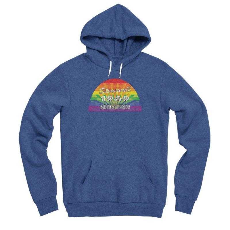 Stonewall 1969 Birth Of Pride Women's Sponge Fleece Pullover Hoody by Leading Artist Shop