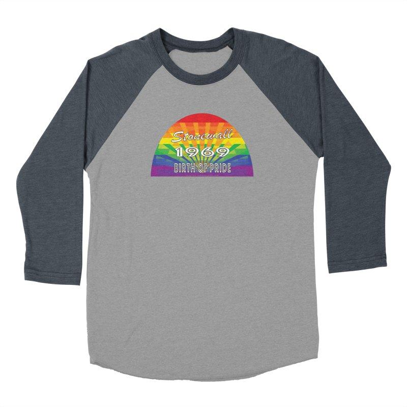 Stonewall 1969 Birth Of Pride Women's Baseball Triblend Longsleeve T-Shirt by Leading Artist Shop