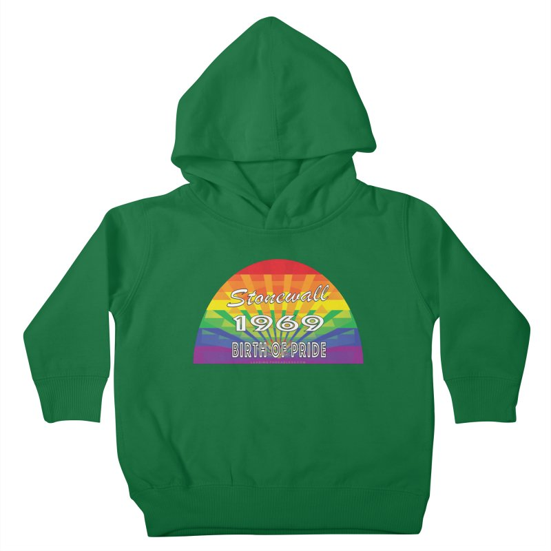 Stonewall 1969 Birth Of Pride Kids Toddler Pullover Hoody by Leading Artist Shop