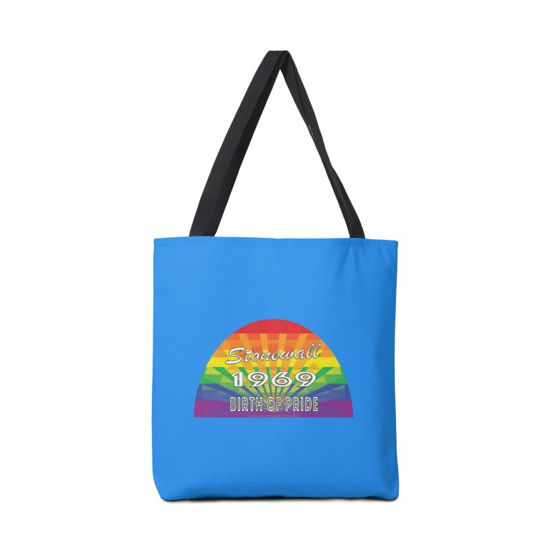 Stonewall 1969 Birth Of Pride Accessories Tote Bag Bag by Leading Artist Shop