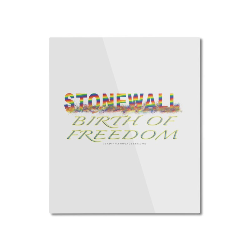 Stonewall Birth Of Freedom Home Mounted Aluminum Print by Leading Artist Shop