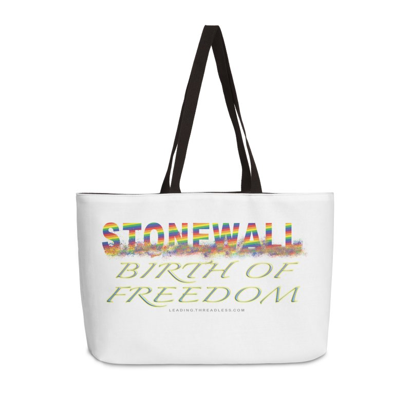 Stonewall Birth Of Freedom Accessories Weekender Bag Bag by Leading Artist Shop