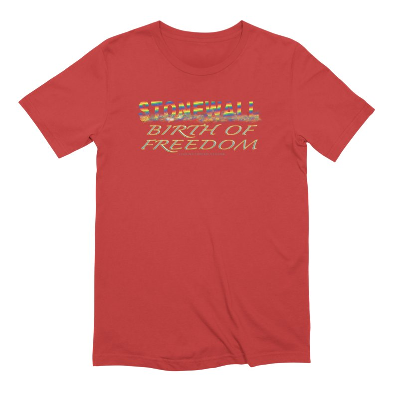 Stonewall Birth Of Freedom Men's Extra Soft T-Shirt by Leading Artist Shop