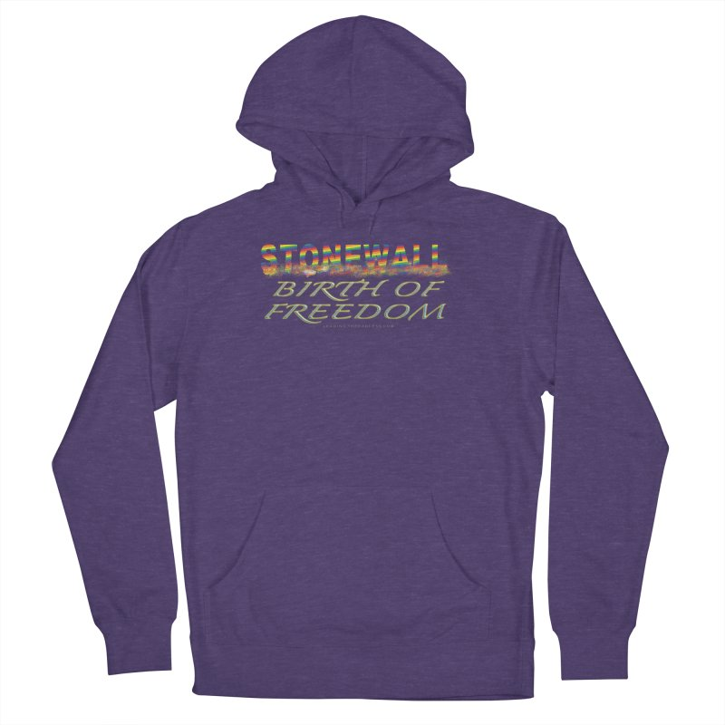 Stonewall Birth Of Freedom Women's French Terry Pullover Hoody by Leading Artist Shop