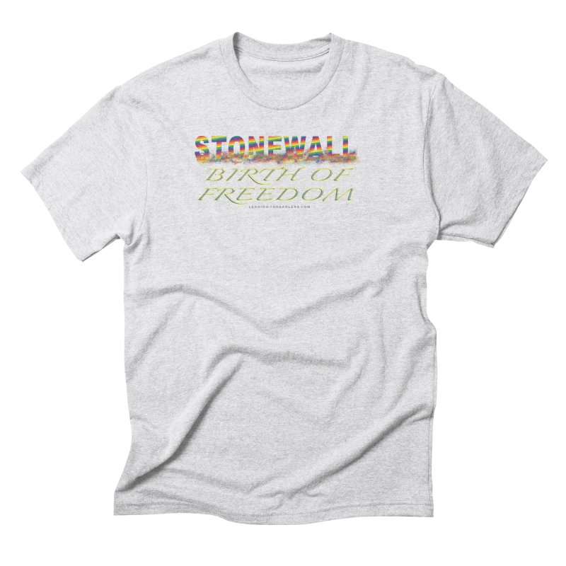 Stonewall Birth Of Freedom Men's Triblend T-Shirt by Leading Artist Shop