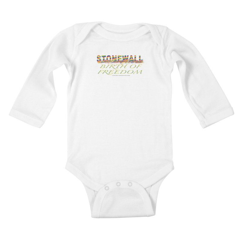 Stonewall Birth Of Freedom Kids Baby Longsleeve Bodysuit by Leading Artist Shop