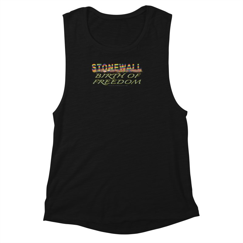 Stonewall Birth Of Freedom Women's Tank by Leading Artist Shop