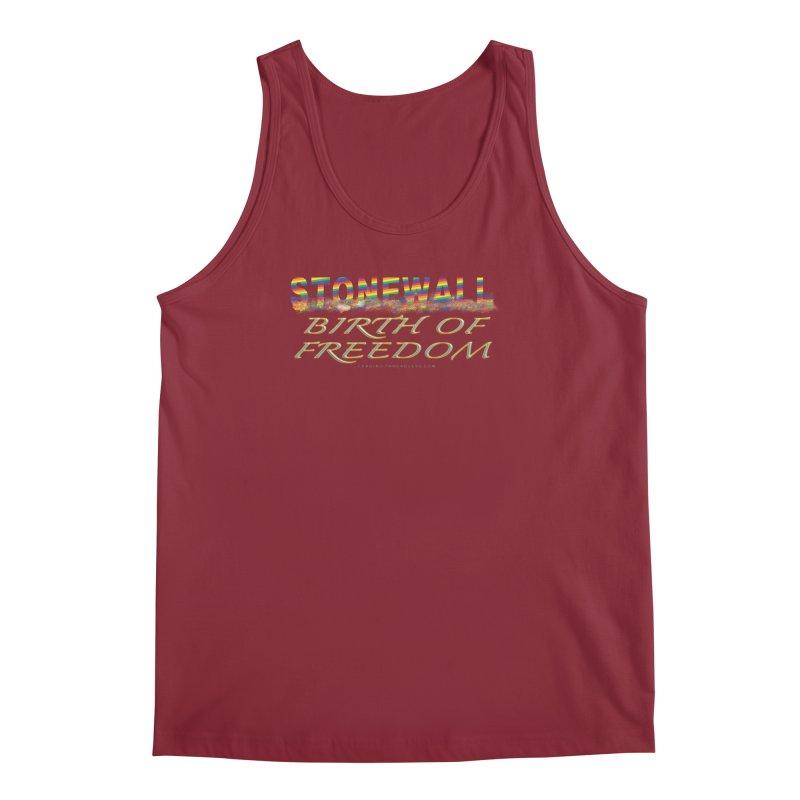 Stonewall Birth Of Freedom Men's Regular Tank by Leading Artist Shop