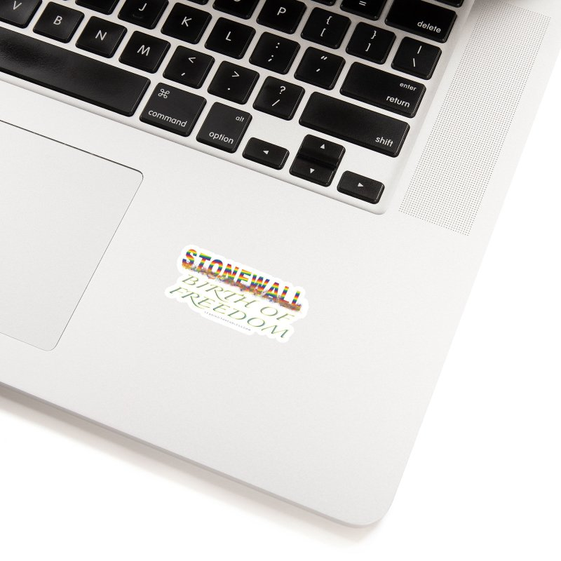 Stonewall Birth Of Freedom Accessories Sticker by Leading Artist Shop
