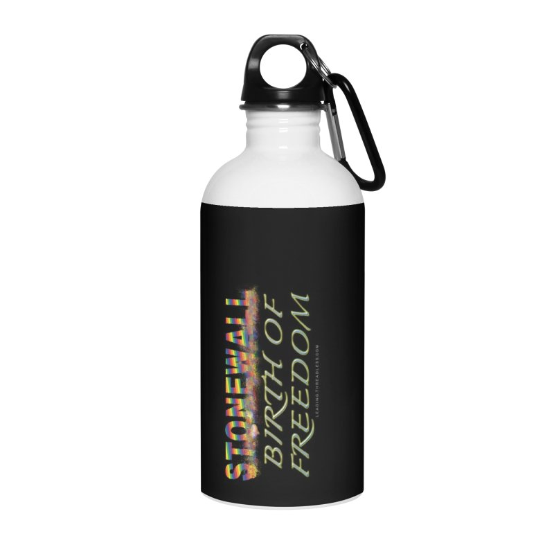 Stonewall Birth Of Freedom Accessories Water Bottle by Leading Artist Shop