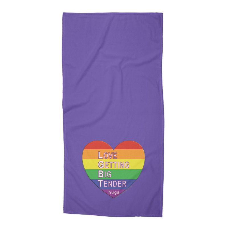 LGBT Shirts n More Accessories Beach Towel by Leading Artist Shop