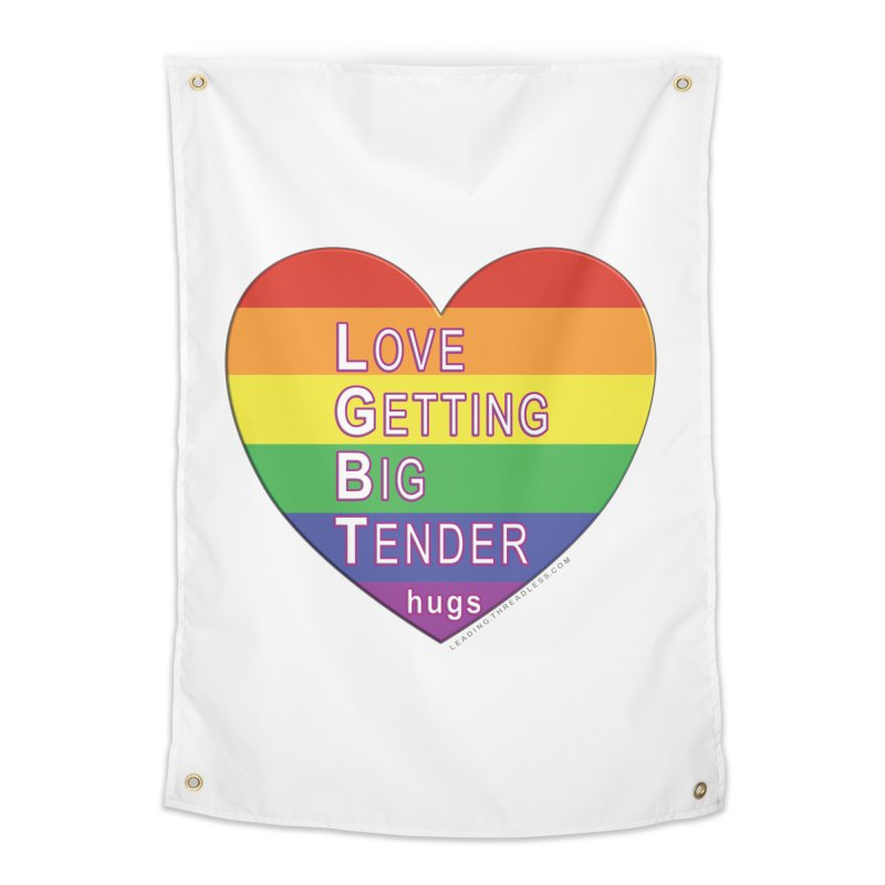 LGBT Shirts n More Home Tapestry by Leading Artist Shop