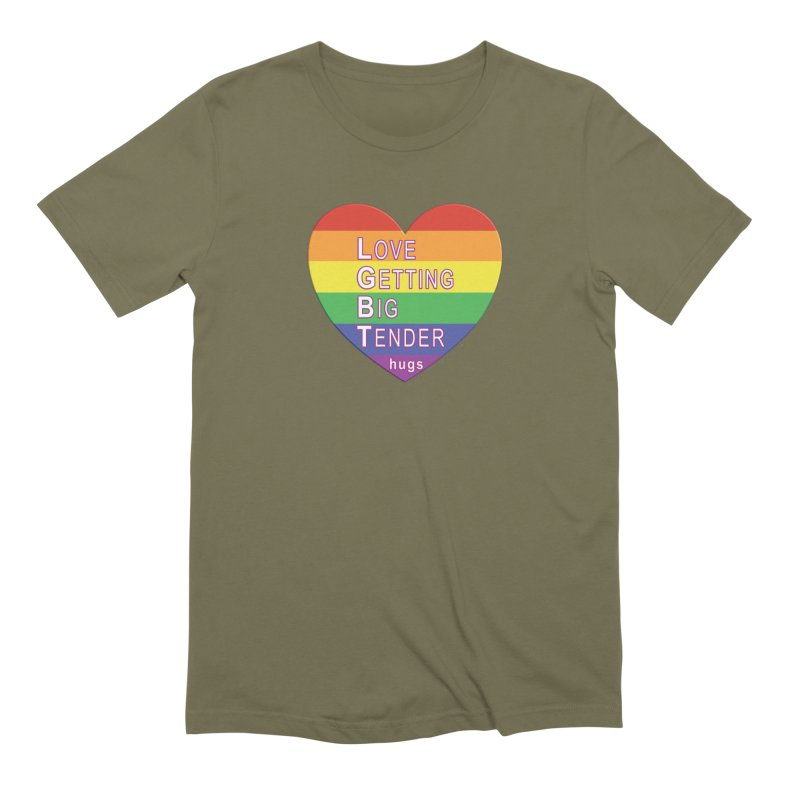 LGBT Shirts n More Men's Extra Soft T-Shirt by Leading Artist Shop