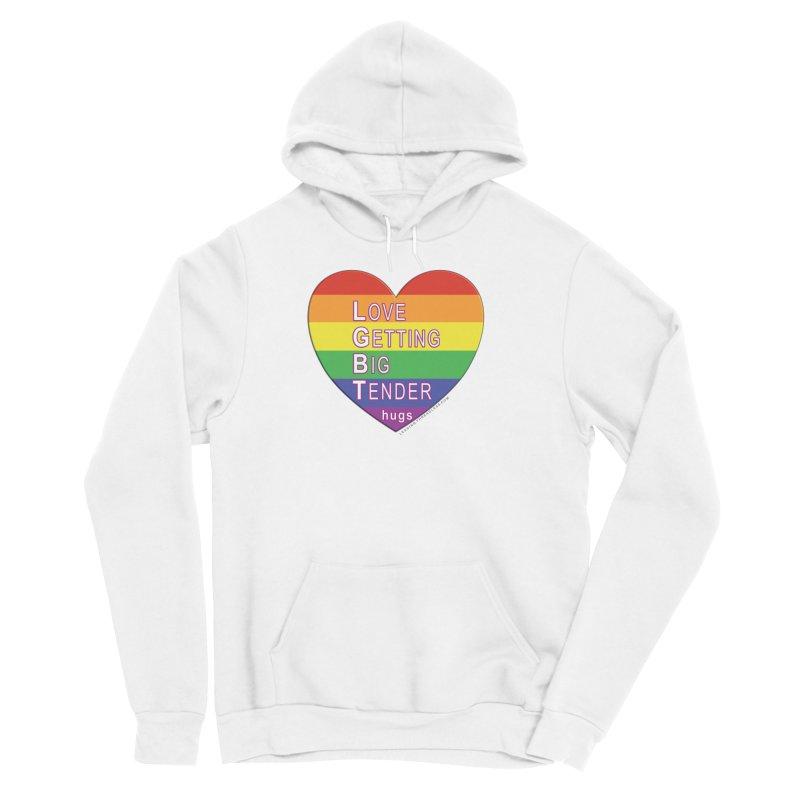 LGBT Shirts n More Women's Sponge Fleece Pullover Hoody by Leading Artist Shop