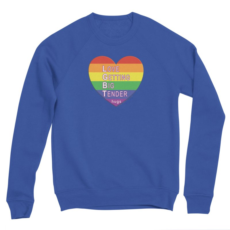 LGBT Shirts n More Men's Sponge Fleece Sweatshirt by Leading Artist Shop