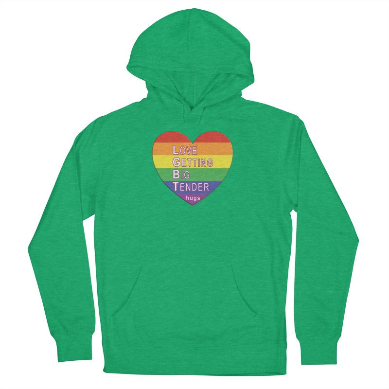 LGBT Shirts n More Women's French Terry Pullover Hoody by Leading Artist Shop