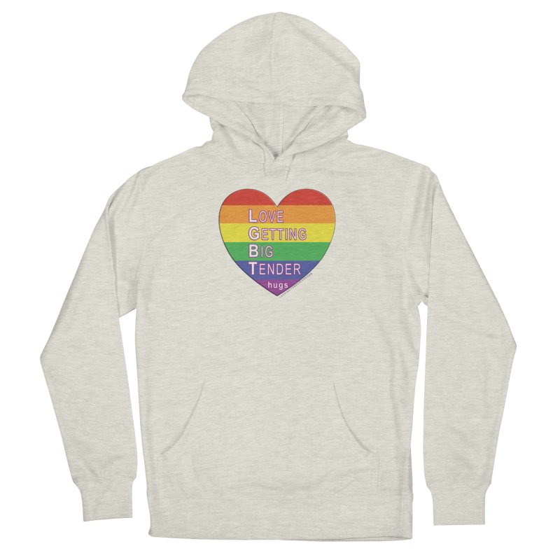 LGBT Shirts n More Men's French Terry Pullover Hoody by Leading Artist Shop