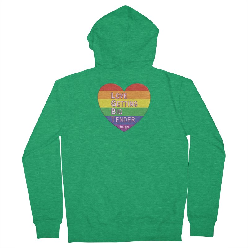 LGBT Shirts n More Women's French Terry Zip-Up Hoody by Leading Artist Shop