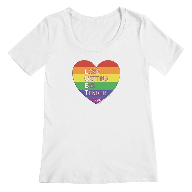LGBT Shirts n More Women's Regular Scoop Neck by Leading Artist Shop