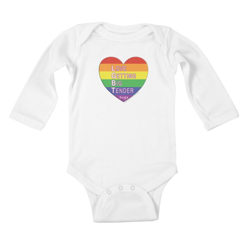 LGBT Shirts n More Kids Baby Longsleeve Bodysuit by Leading Artist Shop