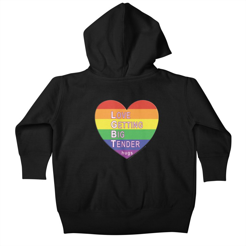 LGBT Shirts n More Kids Baby Zip-Up Hoody by Leading Artist Shop